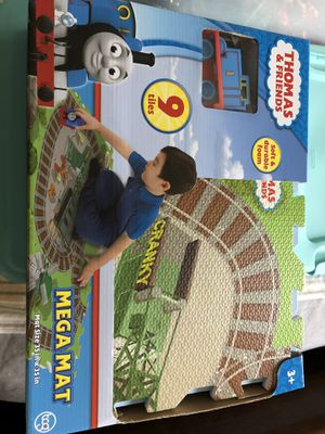 """Thomas & Friends Mega Mat 9 Tiles 35"""" X 35"""" 1 Vehicle Included for Sale in Lake Mary, FL"""