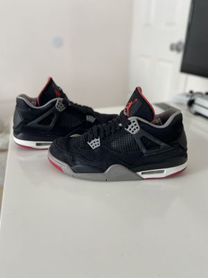 Jordan 4 bred beat size 11 2012 release no box beat throw offers for Sale in Federal Way, WA