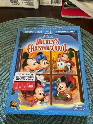 Mickey's Christmas Carol DVD and Blu-ray for Sale in Jacksonville, FL