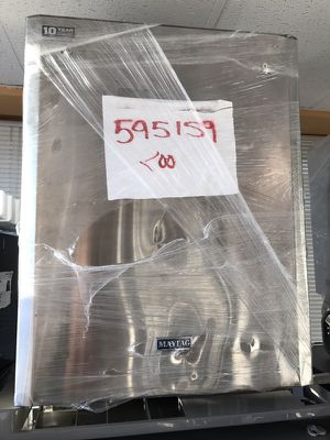 Brand new Maytag stainless steel scratch and dent dishwasher for Sale in Manassas, VA