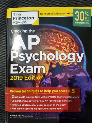 AP Psychology Test Study for Sale in Fulton, IL