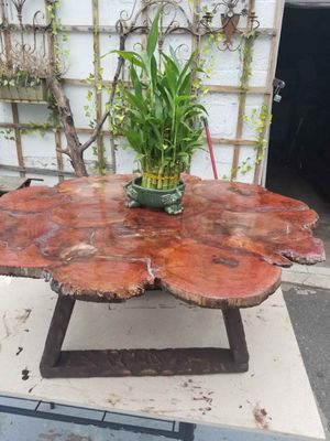 ARTESANAL TABLE ALL WOOD AND RESIN for Sale in Linden, NJ