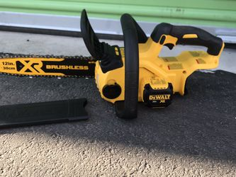 "Dewalt XR Chainsaw 20 Vol 12"" for Sale in North Las Vegas,  NV"