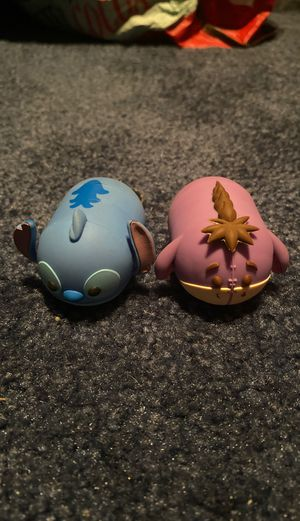 2 tsum tsum series 2 key rings (stitch and eyesore) for Sale in Ewing Township, NJ