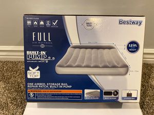 Air mattress with built in pump for Sale in Bingham Canyon, UT