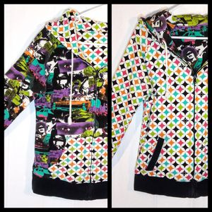 M - Chick's Volcom Reversible Hoodie Jacket for Sale in Longmont, CO