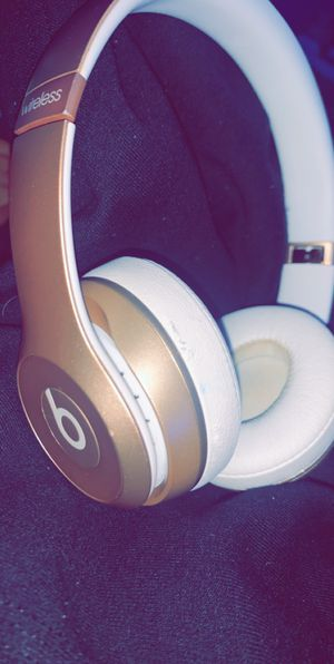 Gold Beats Solo Wireless for Sale in Lancaster, PA