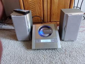 Sharp Compact Audio System w/remote for Sale in Vacaville, CA
