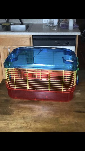 Plastic Hamster Cage for Sale in Round Rock, TX