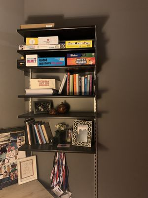 IKEA Dirigent metal/wood shelving unit for Sale in Chicago, IL