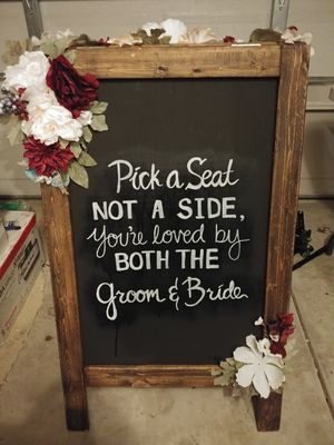 Wedding signs for sale for Sale in Virginia Beach, VA