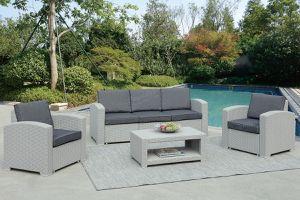 4 piece gray or tan patio set for Sale in Mesa, AZ