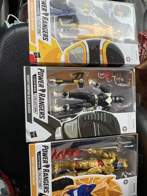 Power rangers figures for Sale in Santa Ana, CA