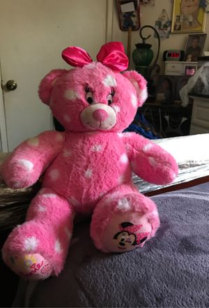 Pink Minnie Mouse teddy bear for Sale in Temecula, CA