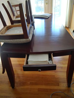 Dining table and 6 chairs for Sale in Clarksville, PA