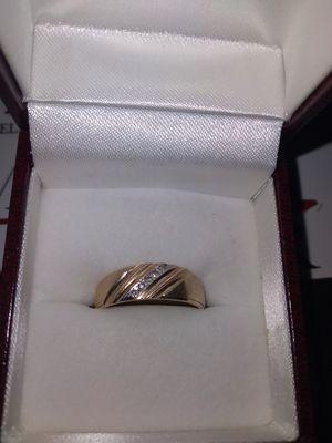 14k Diamond chip ring for Sale in Brockton, MA