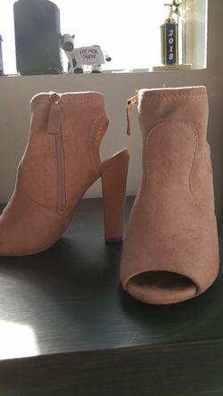 Pink Felt Heels for Sale in San Angelo,  TX