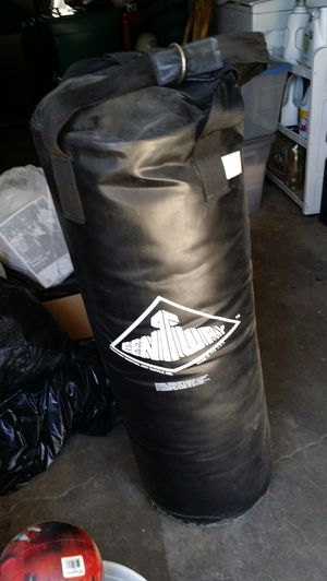 Speed bag and gloves for Sale in Hughson, CA