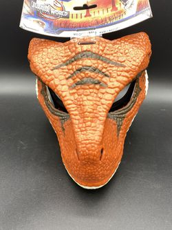 New Jurassic World Toys Realistic Velociraptor Mask Legacy Collection for Sale in Peoria,  IL