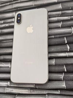 IPHONE X 64gb unlocked warranty for Sale in Everett, MA