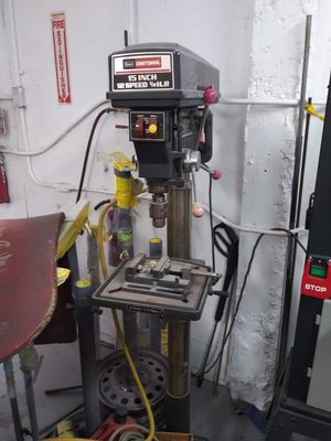 Craftsman 15in, 3 speed drill press for Sale in Oakland Park, FL