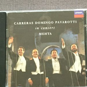 The Three Tenors In Concert original CD music new condition. Carreras, Domingo and Pavarotti with Zubin Mehta conducting. for Sale in Lansdale, PA