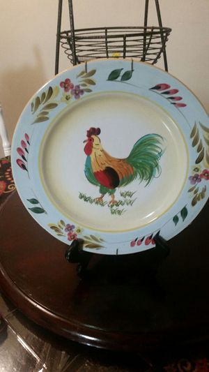 Rooster plate for Sale in Salt Lake City, UT