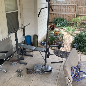 Weight Lifting Set for Sale in San Antonio, TX