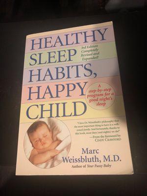 Happy sleep habits book for Sale in Long Beach, CA