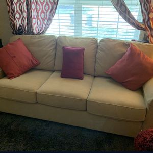 Clean Tan Couch for Sale in Sherwood, OR