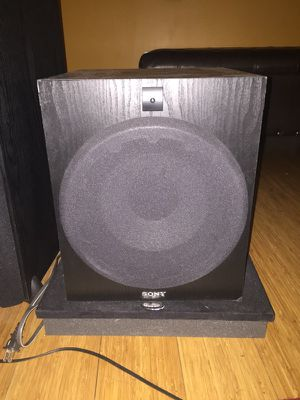 Sony SA-W2500 Subwoofer for Sale in Seattle, WA