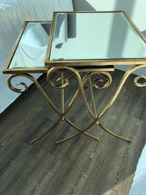 Side table / end table gold modern brand new! for Sale in Chicago, IL