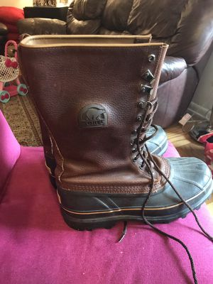 "SOREL MENS BOOTS ""Weatherproof"" 10 for Sale in Silver Spring, MD"