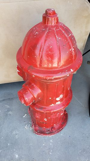 Cement fire hydrant for Sale in Fort Worth, TX