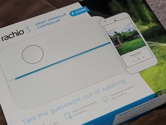 Brand New Rachio R3 Smart Sprinkler Controller, 8 Zone Smart System for Sale in Portland,  OR