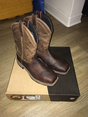 Redwing steeltoe work boots 9.5 for Sale in Flower Mound, TX