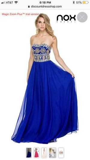 Nox prom dress size M for Sale in Richmond, CA