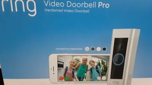 "RING VIDEO DOORBELL PRO ""BRAND NEW"" for Sale in Cypress, TX"