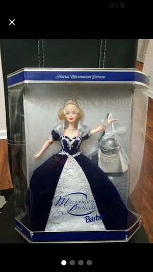 2000 Millennium Princess Barbie for Sale in Toms River, NJ