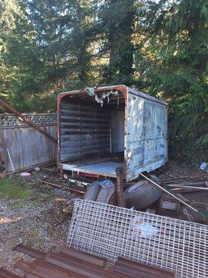 Old trailer box for Sale in Black Diamond, WA