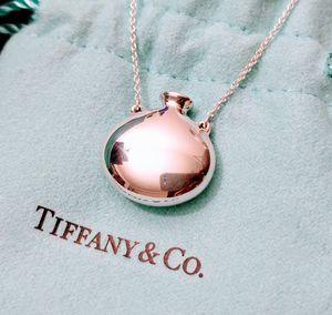 """Tiffany & Co Sterling Sliver Elsa Peretti Mini Bottle Pendant 18"""" NEW for Sale in Vienna, VA"""