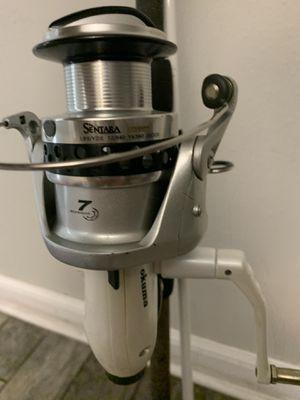 Okuma Baitrunner Reel and 10' Rod for Sale in Tampa, FL