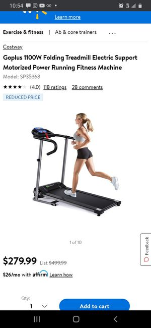 New GoPlus Electric Folding Treadmill for Sale in Norwalk, CA