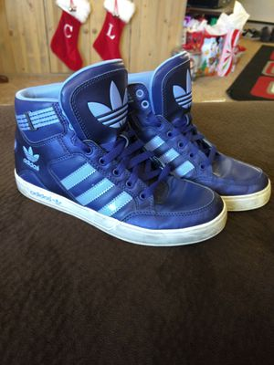 Blue Adidas Women's 7 for Sale in Wenatchee, WA