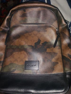 150$firmCoach mens backpack camoflauge like new for Sale in Montebello, CA