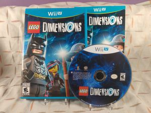LEGO Dimensions for Nintendo Wii U for Sale in Chicago, IL