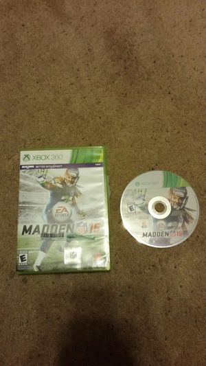 Madden 15 xbox 360 game for Sale in Pittsburgh, PA