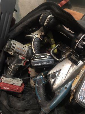 Drills ,sawzals,skill saws etc for Sale in Temecula, CA