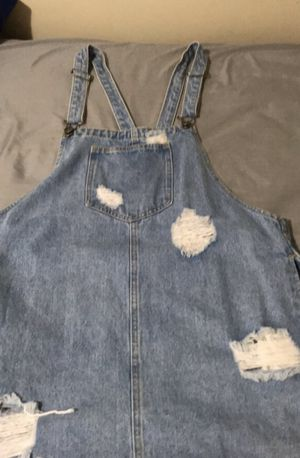 Overall jean dress for Sale in Lawndale, CA