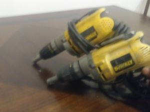 Dewalt power tools drills for Sale in Indianapolis, IN
